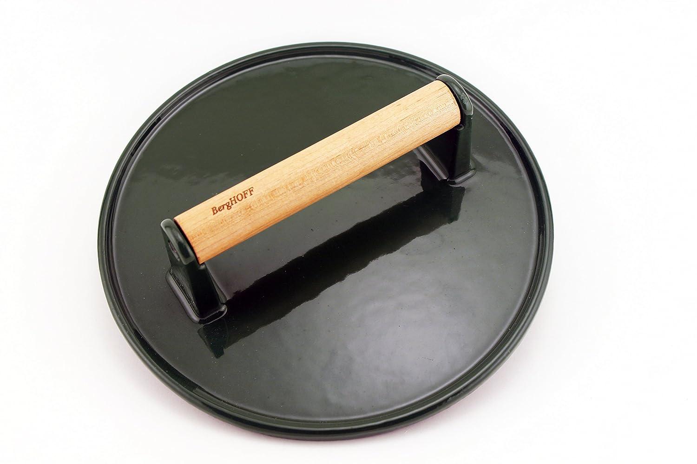 BergHOFF 2211473 Cast Iron Steak Press, Green   B00OS4A72A