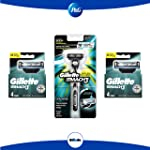 Pack GilletteM3 Máquina+8cartu
