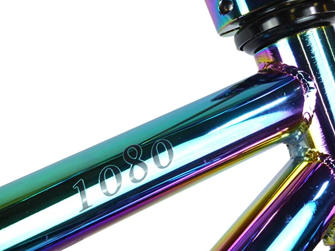 Mini bicicleta Rocker BMX 1080, edición limitada, para niños, Stunt Freestyle jet combustible cromo: Amazon.es: Deportes y aire libre