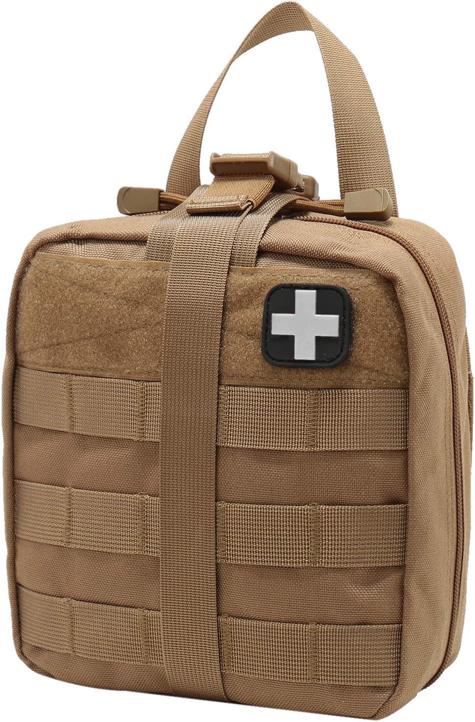 solo borsa Gonex MOLLE Medical Pouch EMT First Aid Pouch Rip-Away IFAK Tactical Utility Pouch per attivit/à allaperto forniture mediche