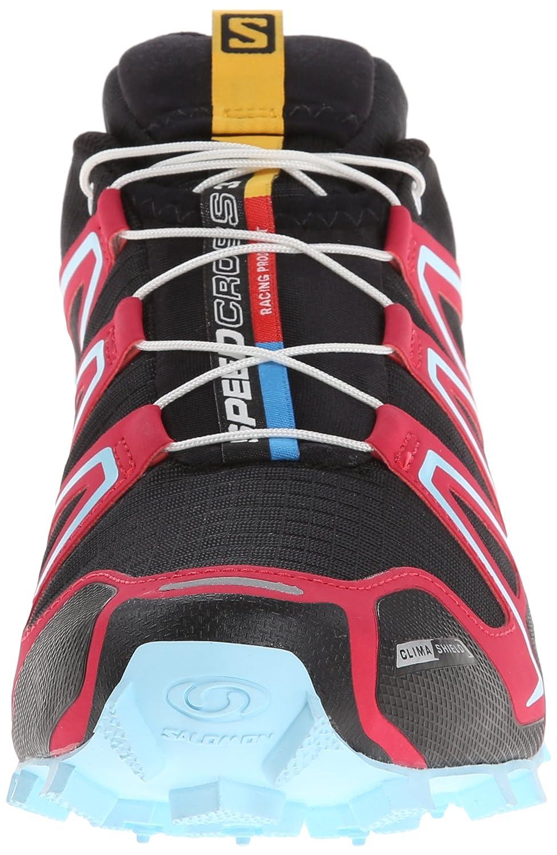 reputable site b1d3a 4019d Salomon Women s Speedcross 3 CS Trail Running Shoe, Black Lotus Pink Air,  11 M US  Amazon.co.uk  Shoes   Bags