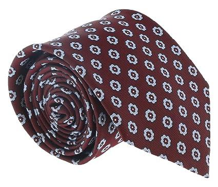 fe8273dd20 Ermenegildo Zegna Burgundy-Blue Floral Medallion Tie for mens at ...