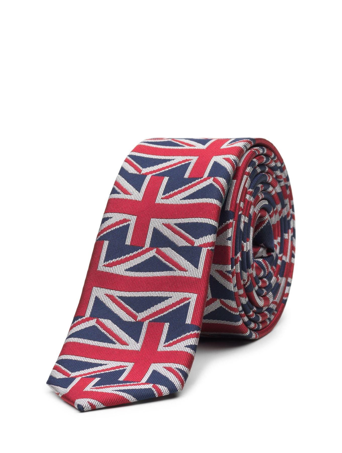 Paisley of London, Boys Royal Union Jack Slim Tie, One Size