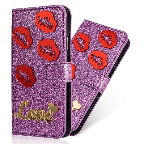 coque iphone 8 porte carte pour femme