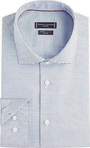 Tommy Hilfiger TT0TT05567 Flex Collar Camisa Hombre: Amazon.es: Ropa y accesorios