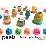 Peels thread Spool Huggers, Keep Thread Tails Under Control Preventing Unwinding (12 Pieces)