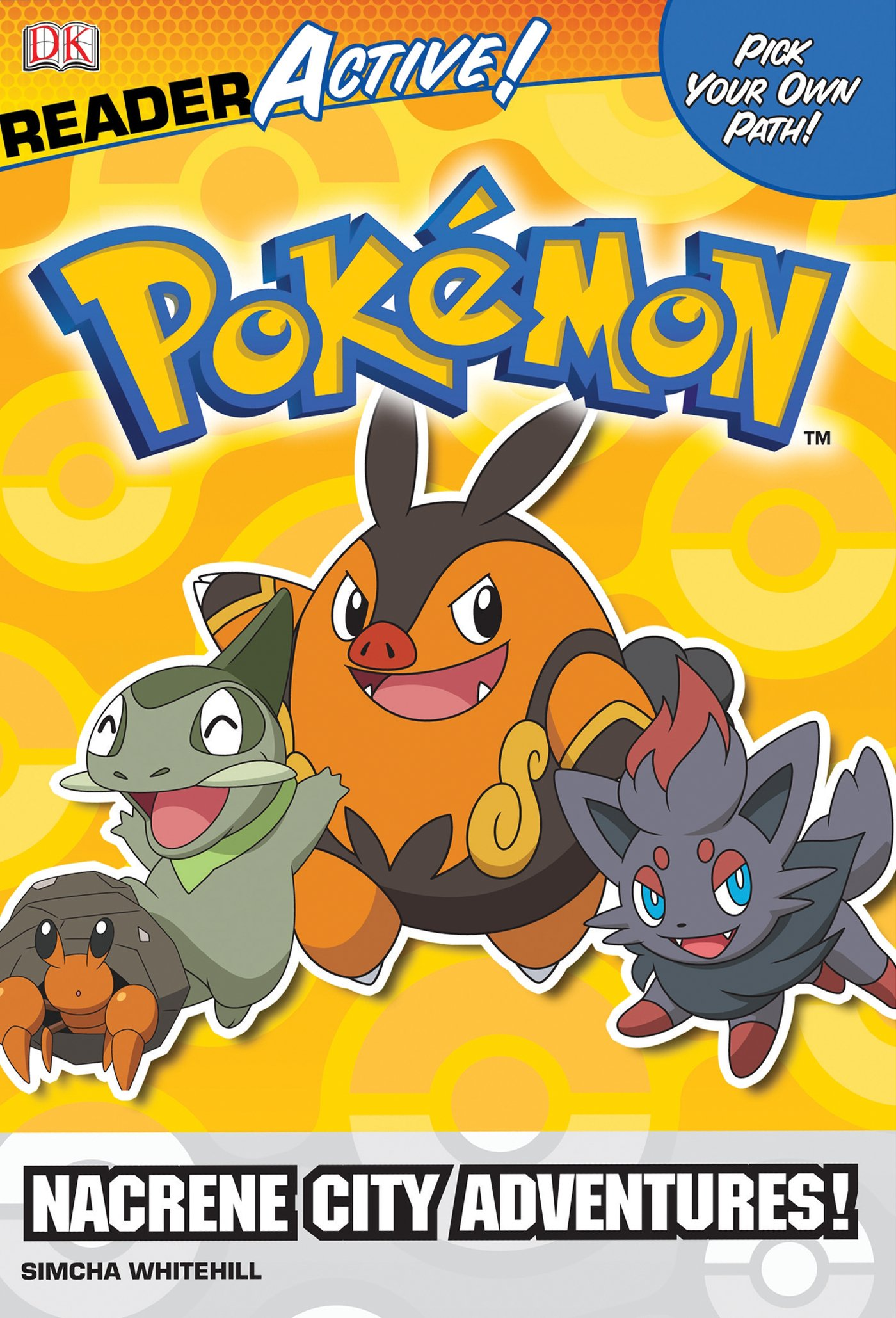 Pokemon ReaderActive: Nacrene City Adventures! (Dk Readers Active: Pokemon)