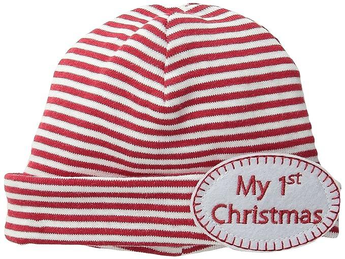 b3d38494068 Amazon.com  Mud Pie Unisex-Baby Newborn My 1St Christmas Hat