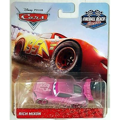 Fireball Beach Disney Cars #36 Tank Coat Rich Mixon 1:55 Scale Diecast FWG33: Toys & Games