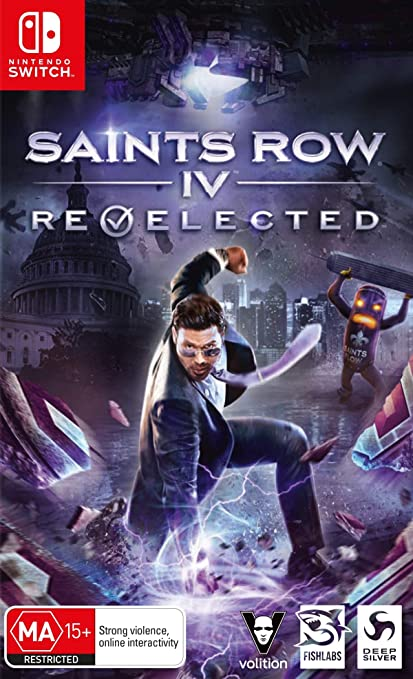 Saints Row Iv. Re-Elected for Nintendo Switch [Usa]: Amazon.es: Videojuegos