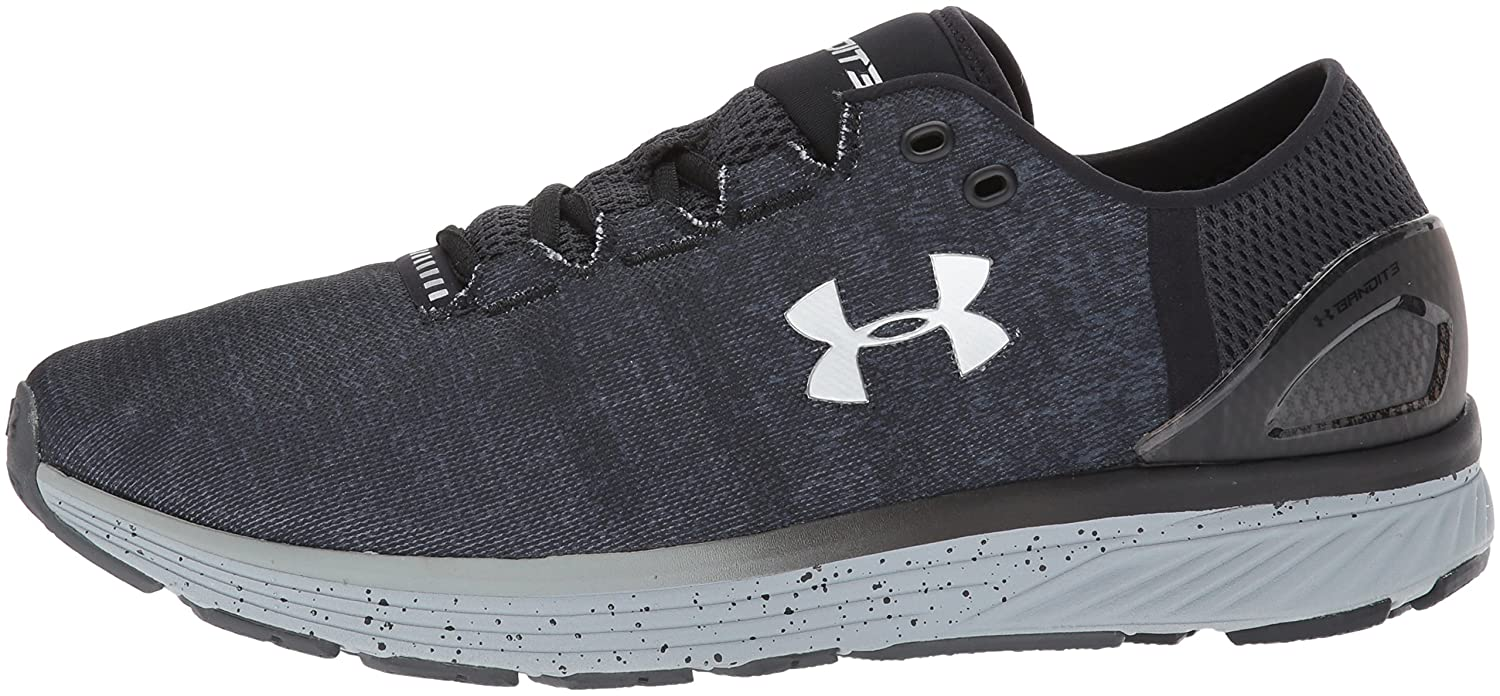 Under Armour Women's Charged Bandit 3 M Running Shoe B01MQQL3KY 18 M 3 US|Stealth Gray (008)/Black bea3c4