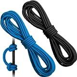 2 Pieces Archery D Loop Rope 10 Feet Archery Bowstring Serving Thread D Loop Rope Release Material Nocking D Loop Rope…