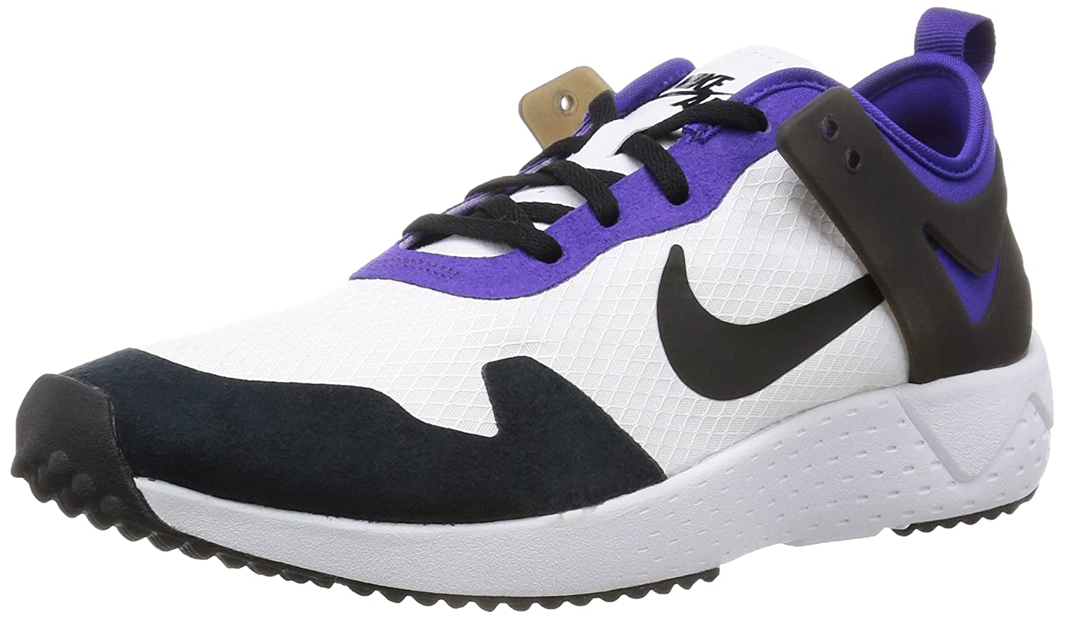NIKE Zoom Lite QS Men's Sneaker White 850560 105 B001DVYWTU 11.5 D(M) US|White/Black-court Purple-bright Citrus
