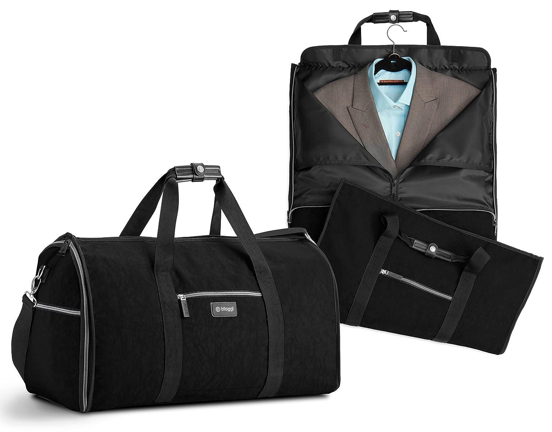 6474a1bb3 Amazon.com | Biaggi Hangeroo Two-In-One Garment Bag and Duffle - Compact  Duffle 22-Inch - As Seen on Shark Tank - Black | Garment Bags