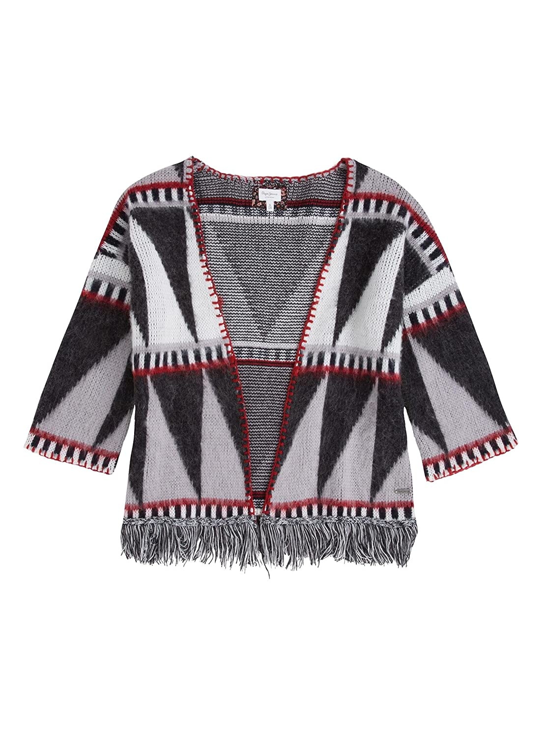 MultiCouleure  Poncho Pepe Jeans Ginger