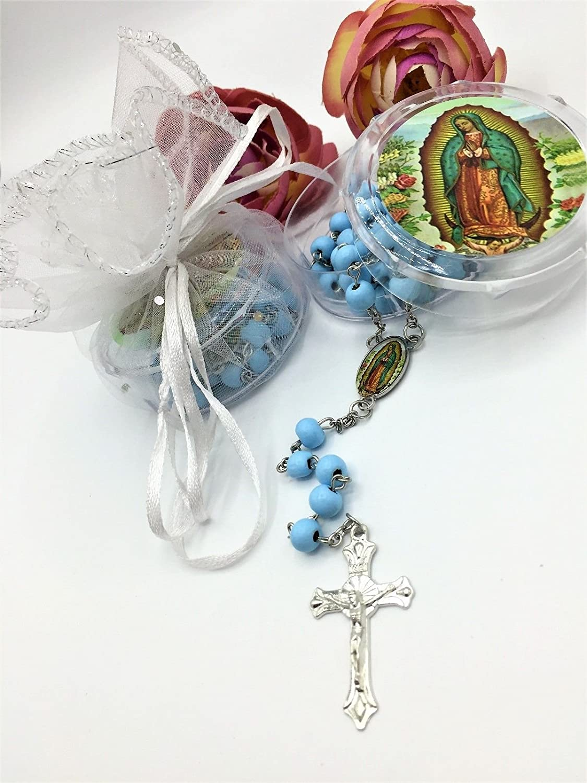 12X First Communion Favors Rosary Boy Confirmation Communion Recuerdos Primera