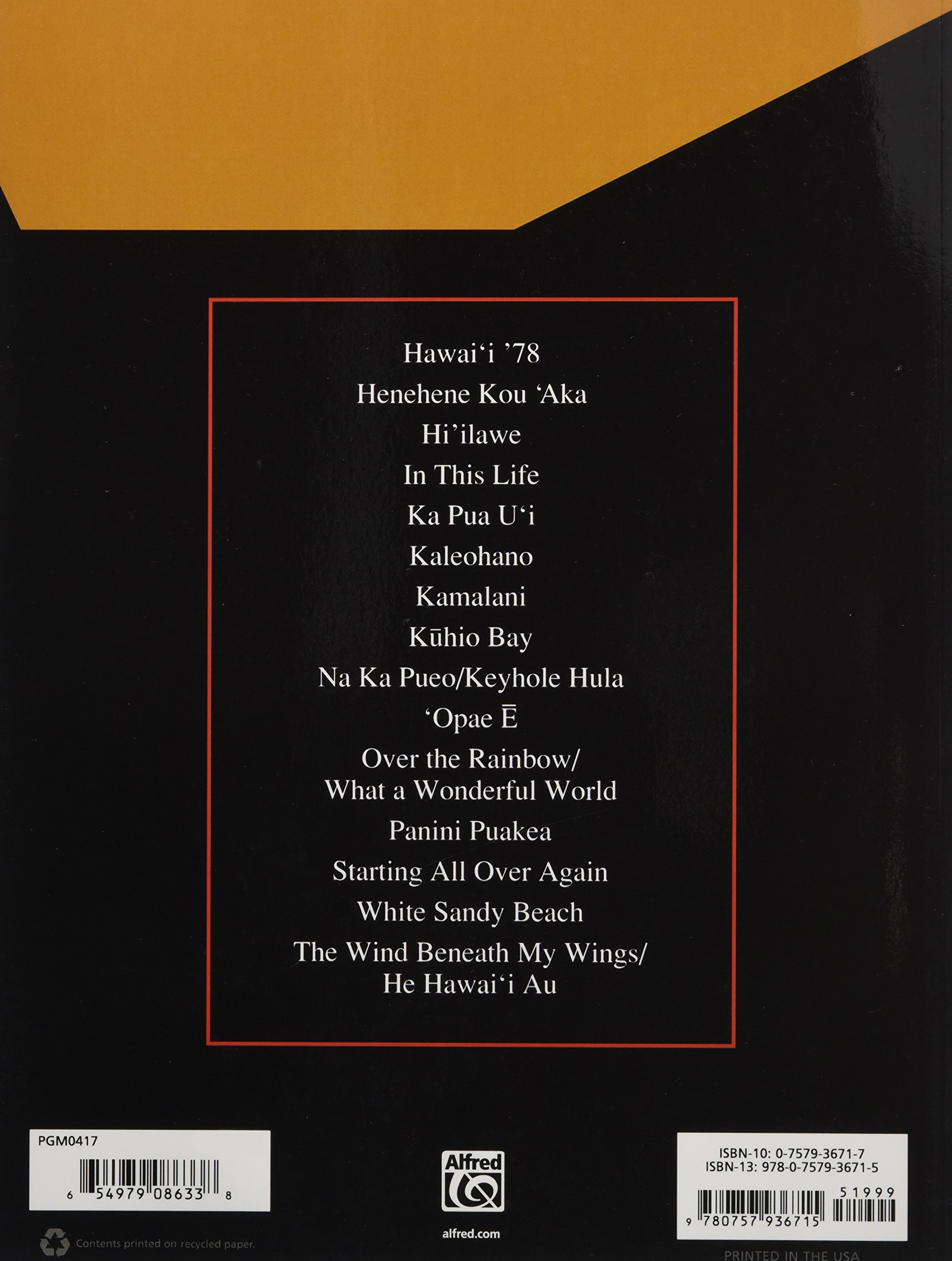 Amazon Iz The Songbook Collection Guitar Ukulele Edition