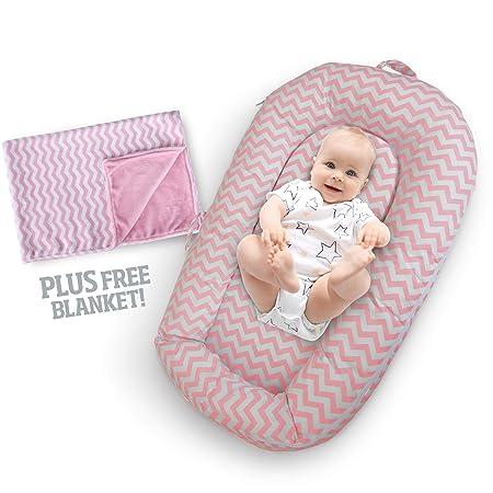 Amazon.com: Tumbona para recién nacido y bebé, portátil ...