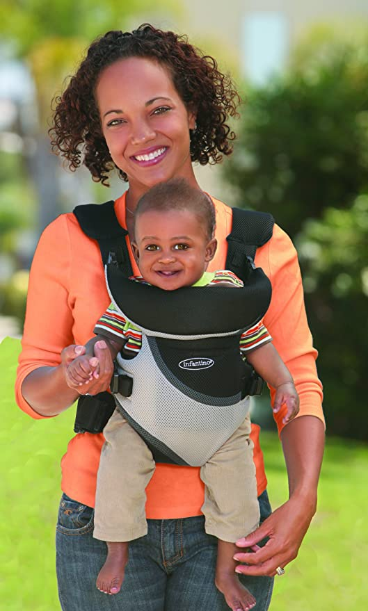 8f2d40cdff1 Buy Infantino Triple Comfort Rider Extended Wear Baby Carrier Online at Low  Prices in India - Amazon.in