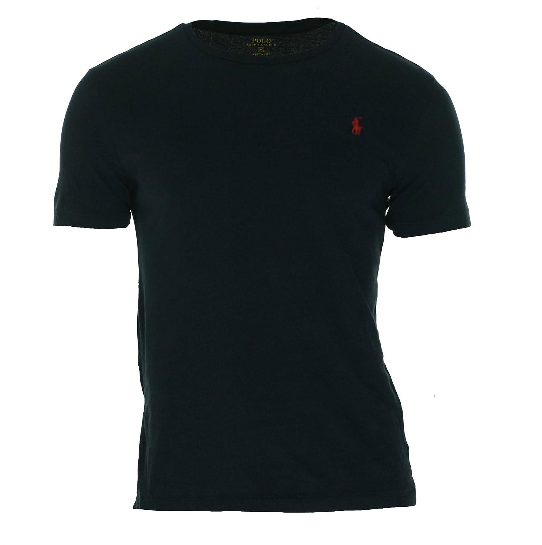 19cf5a9ac Polo Ralph Lauren Men Crewneck Custom Fit Cotton Jersey T-Shirt Ink  X-Large: Amazon.ca: Clothing & Accessories