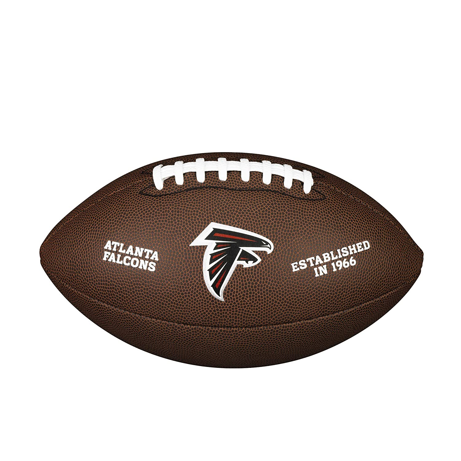 Atlanta Falcons NFL Composite Wilson Logo Football WTF1748ATL