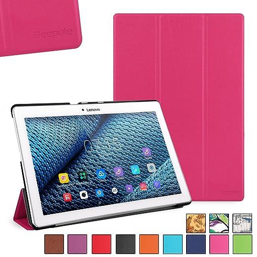 39 opinioni per BeePole Lenovo Tab 2 A10-30/A10-70F Custodia- Custodia Protettiva Tri-Folder per