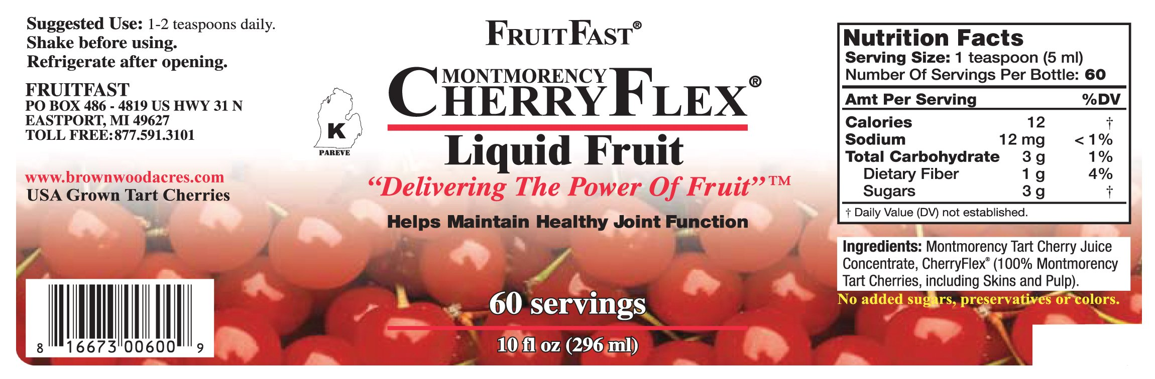 CherryFlex Liquid Fruit - Shipping Included by FruitFast (Image #5)