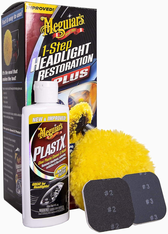Meguiar's G2000 Perfect Clarity Two Step Headlight Restoration Kit