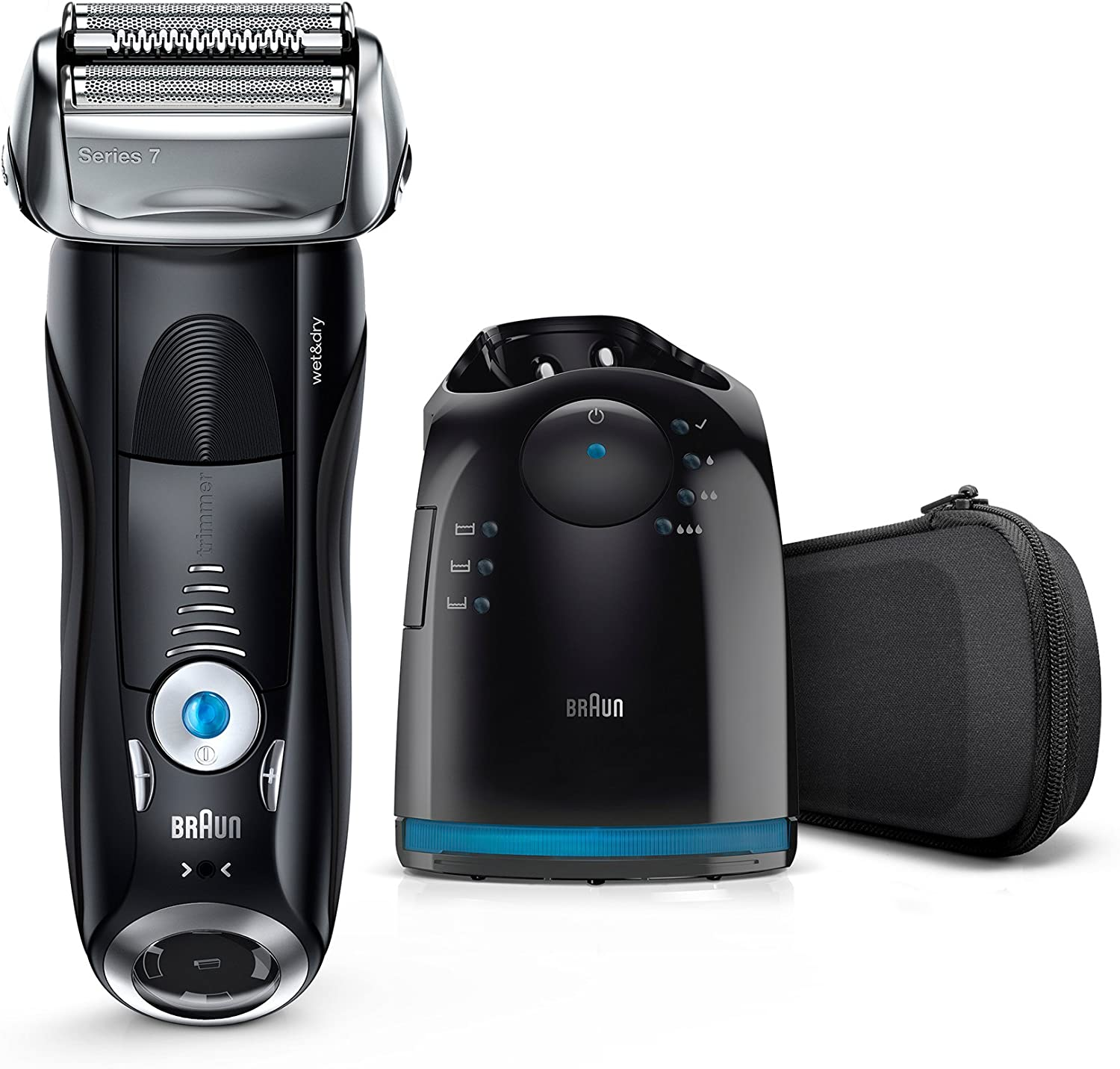 Braun Series 7 7880cc Wet&Dry, Plastico, metal, etc, Negro: Amazon ...