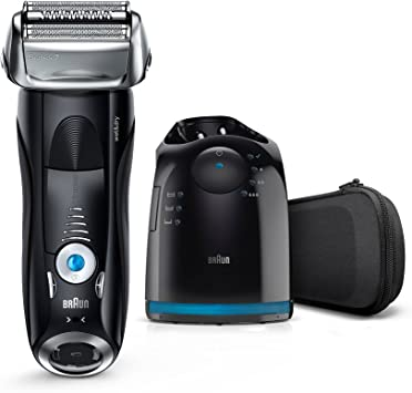 Braun Series 7 7880cc Wet&Dry, Plastico, metal, etc, Negro: Amazon ...