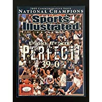 $137 » Geno Auriemma Signed Sports Illustrated 2009 Champs No Label Huskies Auto JSA - Autographed College Magazines