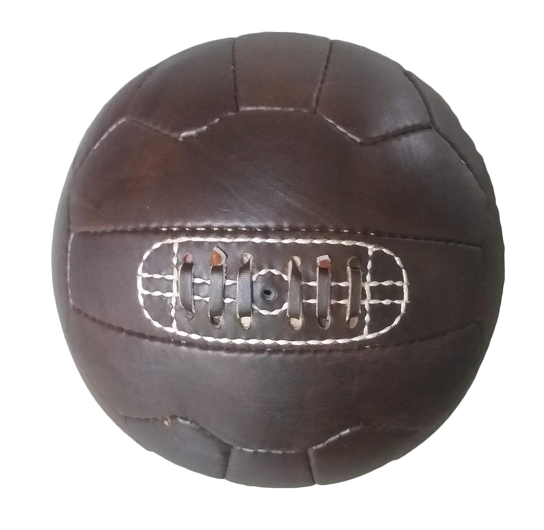 Vintage 1966 balón de fútbol - Color Marrón Oscuro, color marrón ...