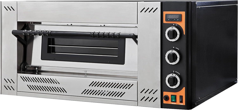GAS Line 4 EG Prismafood - Horno de gas para pizzas (4 x 30 cm): Amazon.es: Grandes electrodomésticos