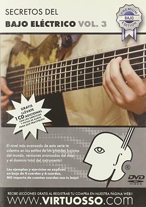 virtuosso Electric Bass Method Vol. 3 (curso de bajo eléctrico Vol. 3)