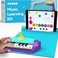 Plugo Tunes by PlayShifu - Piano Learning Kit Musical STEAM Toy for Ages 5-10 - Educational Music Instruments Gift for…