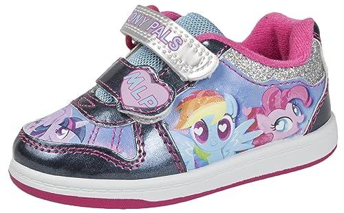 info for a61f8 88b25 My Little Pony Ragazze Scarpe Stile Skater Paillettes UNCINO ...
