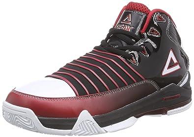 adidas Commander Td 4, Chaussures de Basketball homme - Multicolore - multicolor - Mehrfarbig (Black/Solar Slime/Solar Slime), 40 EU