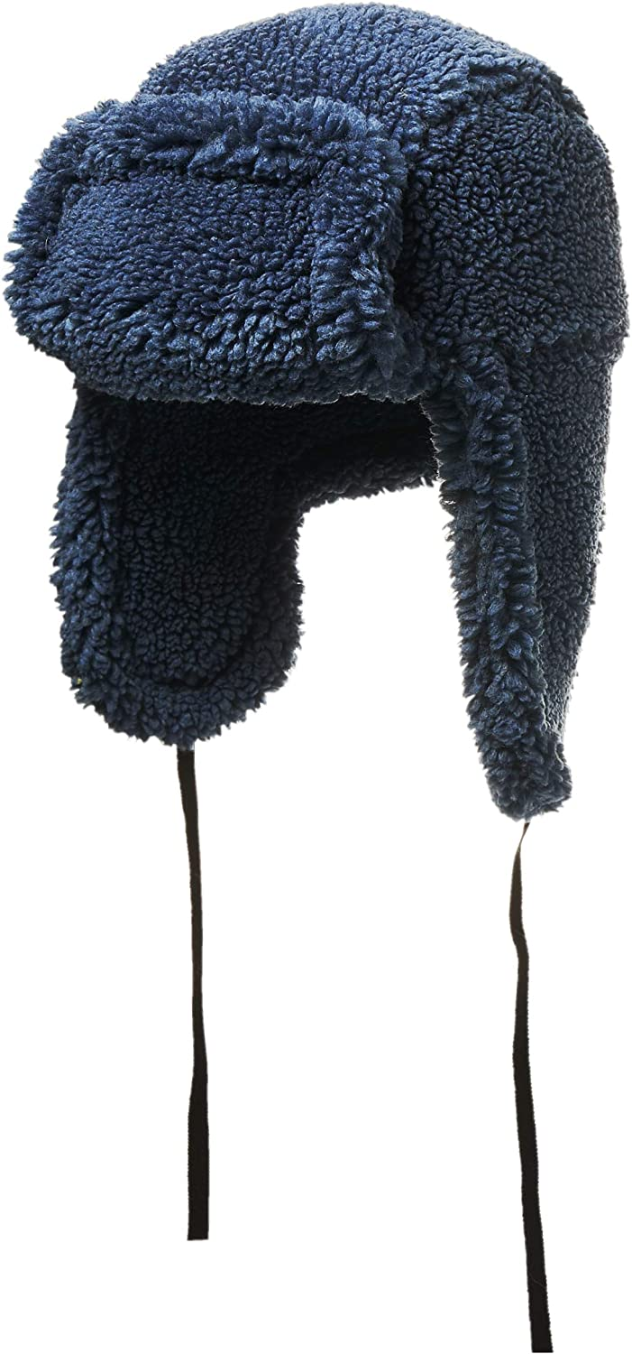 House of Fluff Faux Fur Shearling Hat-100% Recycled Post Consumer