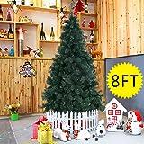Arbre de Noël artificiel sapin décoratif 180, 210, 240cm au choix pied métal (240cm)
