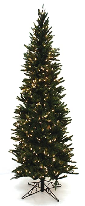 special happy corp ltd oregon pine artificial prelit christmas tree 612 - Prelit Christmas Tree