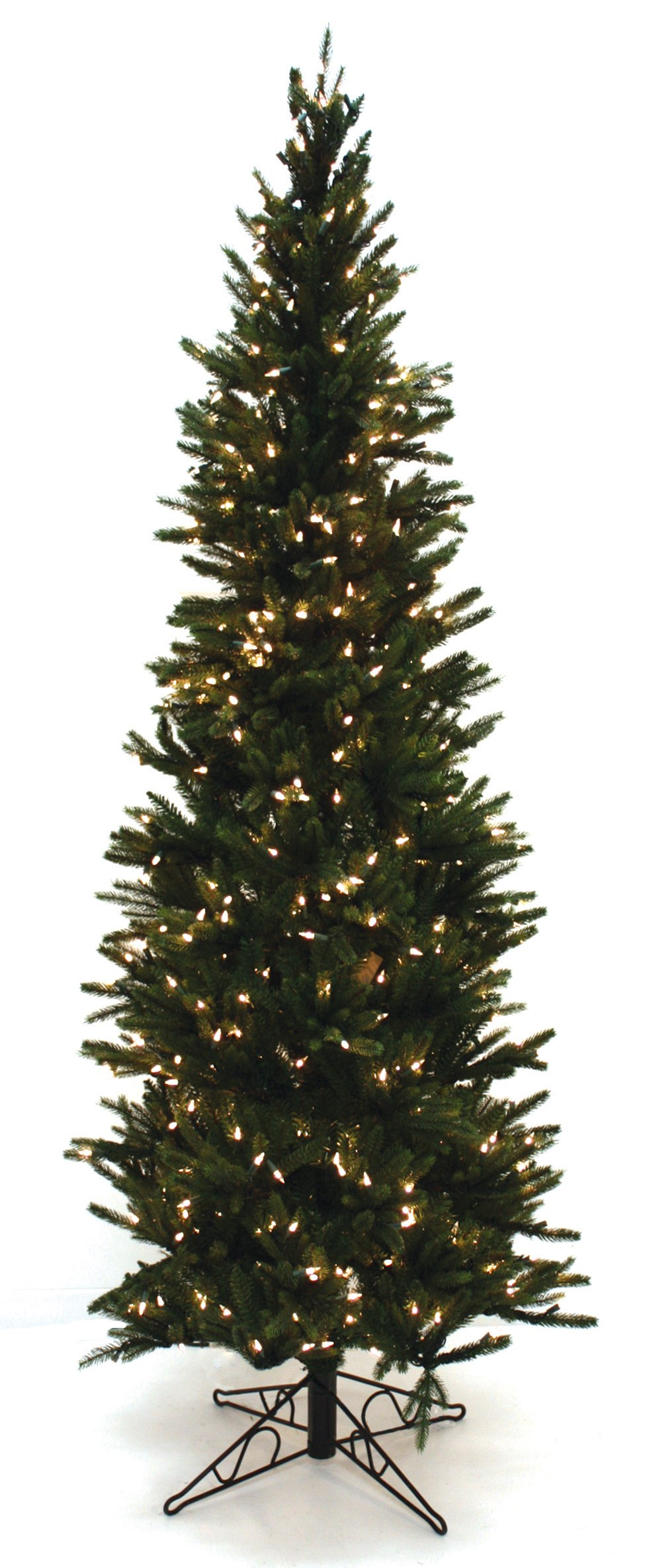 Special Happy Corp LTD Oregon Pine Artificial Prelit Christmas Tree, 6-1/2-Feet, Clear Lights by Good Tidings (Image #1)