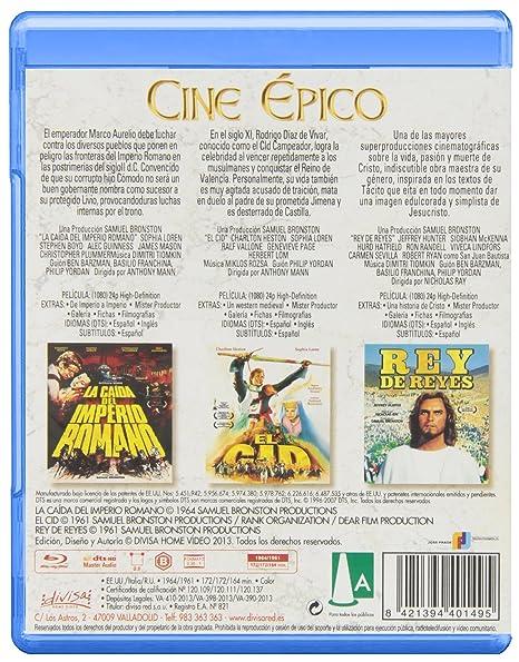 Cine Épico (Incluye 3 Películas) [Blu-ray]: Amazon.es ...