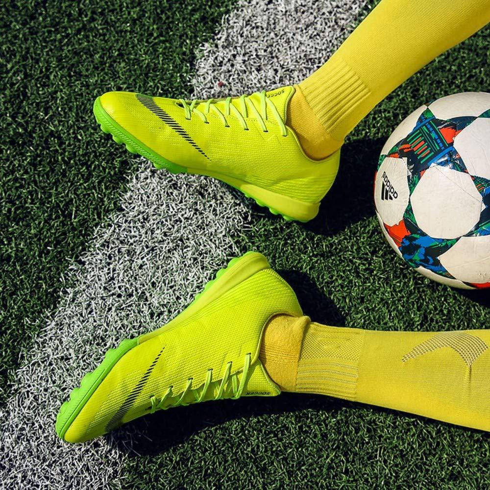 YAYADI Männer Schuhe Indoor Soccer Futsal High Top Schuhe Soccer Cleats Erwachsene Magista Fußball Schuhe Top Für Jungen Kinder Fußballschuhe Knöchel 6c45b7