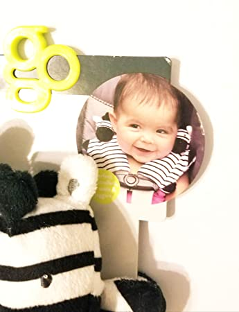 Car Seats /& Joggers Zebra Go By Goldbug Strap Cover Pals for Strollers