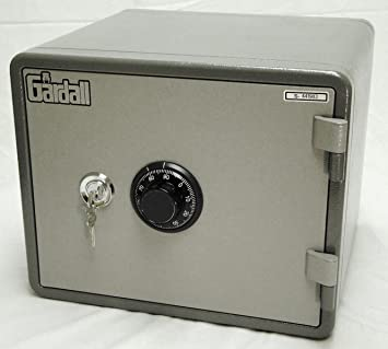 Amazing Gardall MS912E Small 1 Hour Fireproof Safe