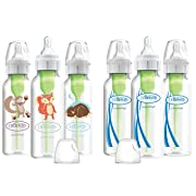 Dr. Brown's Options Baby Bottles, Woodland Animals, 8 Ounce, 6 Count