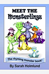 Meet the Monsterlingz (illustrated children's book) (The Rhyming monster book series about the Monsterlingz family 1) Kindle Edition