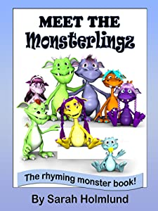 Meet the Monsterlingz (illustrated children's book) (The Rhyming monster book series about the Monsterlingz family 1)