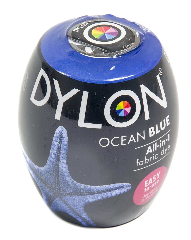 Dylon Machine Dye Pod Box of 3 Ocean Blue, 25 x 10 x 4 cm 745 26