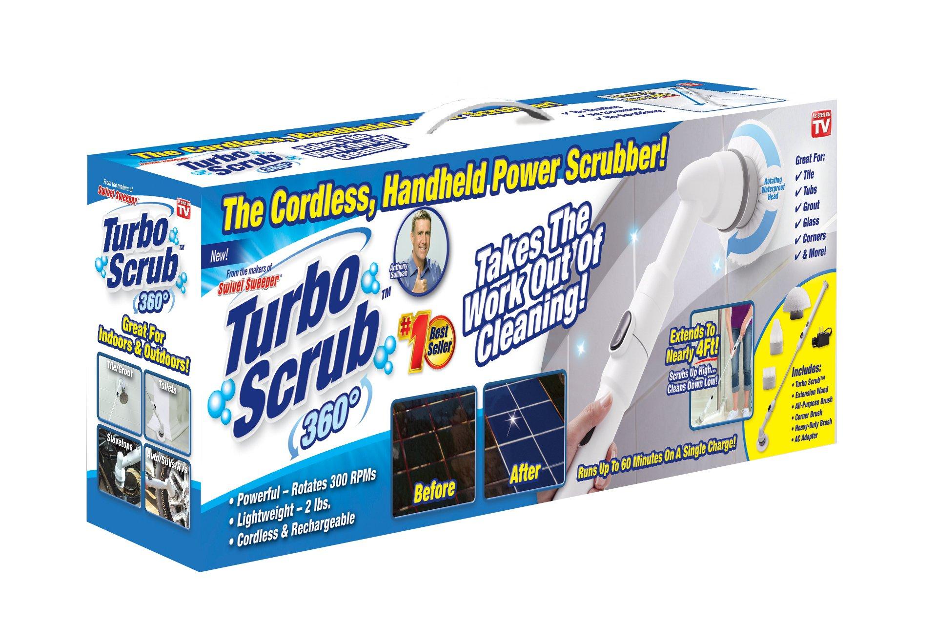 Amazon Com Turbo Scrub 360 Replacement Heads Set Of 3